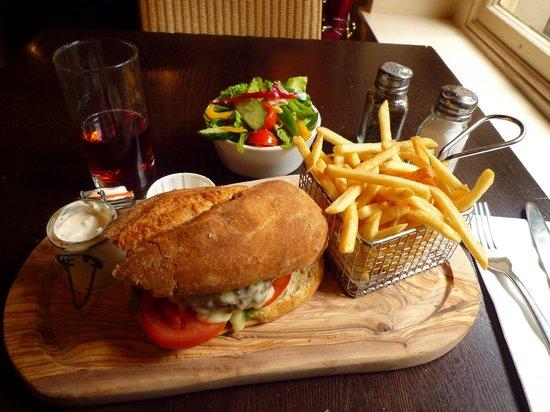 The Clifton Hotel : Lamb-burger at Restaurant