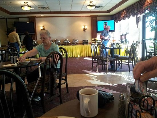 "Clarion Hotel & Conference Center Toms River: Breakfast was ""hearty"""