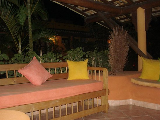 Pousada Estacao Santa Fe: sala ao ar livre