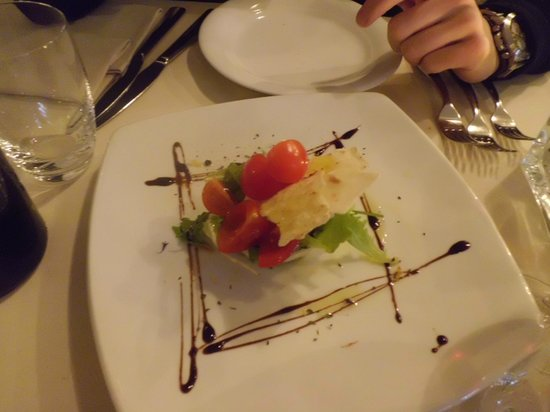 Antica Besseta: Mozzarella di Bufala: Nothing special... I can do it in my place