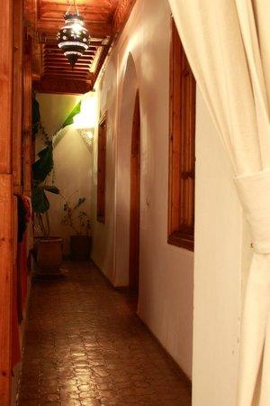 Riad Irene: Couloir