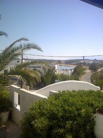 Aspasia Maria : Vue de la terrasse sur la mer