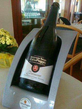 Ca del Poggio Ristorante: vino DOC