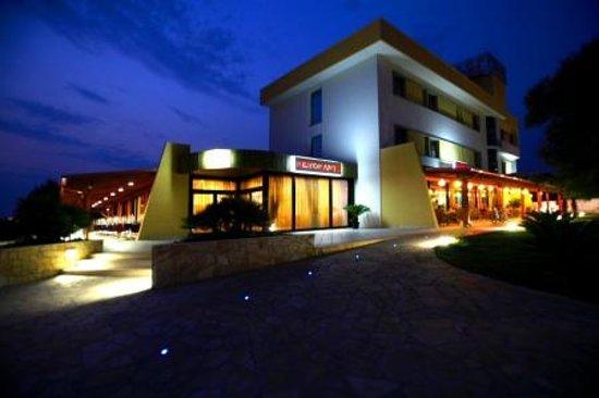 Hotel Posidonia : prospetto hotel