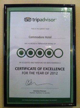 Commodore Hotel Photo