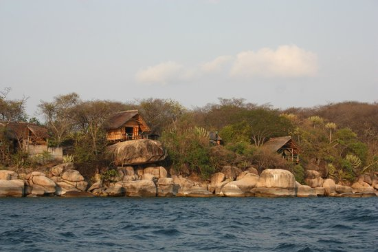 Mumbo Island: Some of the accommodation