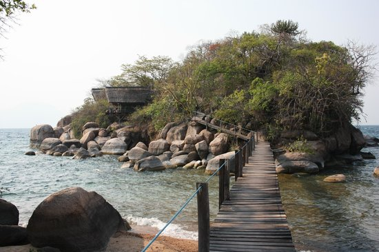 Mumbo Island: View towards the dining area