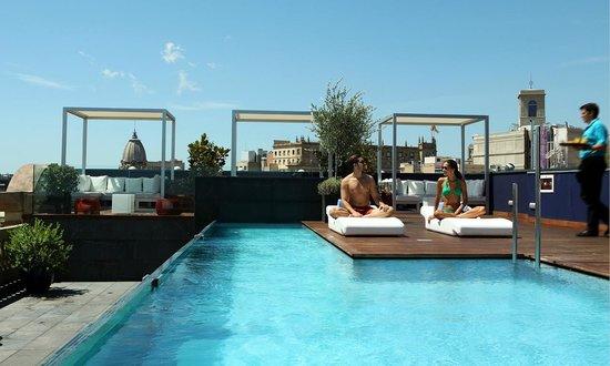 Ohla terraza picture of hotel ohla barcelona barcelona for Ohla hotel barcelona