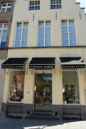 Dumon Chocolatier : Chocolaterie Dumon Shop Simon Stevinsquare
