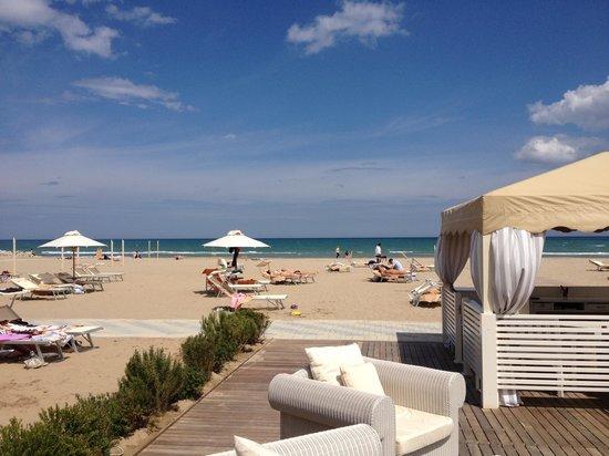 Spiaggia Le Palme 88-89: La spiaggia in preparazione per la stagione 2013