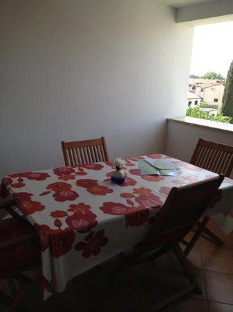 Rooms/Apartments ROMANO: terrazzo