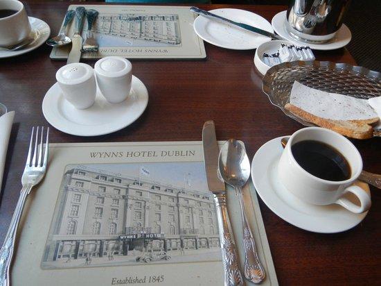 Wynn's Hotel: Colazione