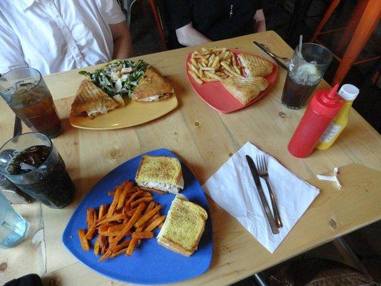 Park Cafe: Luncheon Sandwich Platters