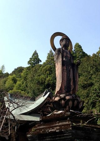 Kiyotakiji Temple: 存在感たっぷりな薬師如来像