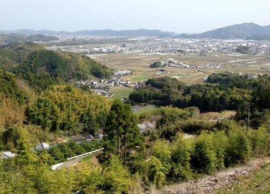 Kiyotakiji Temple: うっすらと土佐湾が見えていました