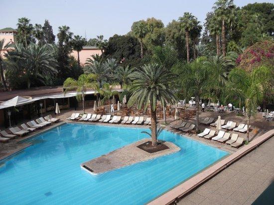 Es Saadi Marrakech Resort - Hotel: Pool from room 107