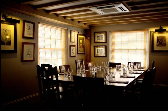 Lion Inn: Dining in the old pub area