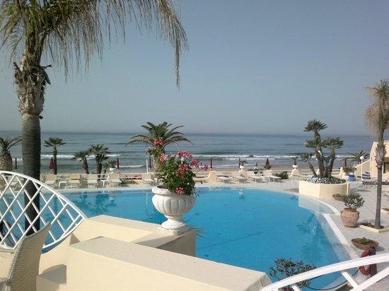 La Playa Grand Hotel: piscina e spiaggia