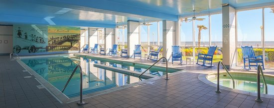 Boardwalk Resort Hotel And Villas S Heated Oceanfront Pool Has A Lap Lane