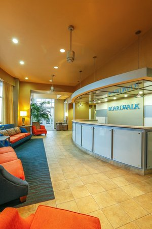 Boardwalk Resort Hotel and Villas: The lobby of Boardwalk Resort Hotel & Villas.