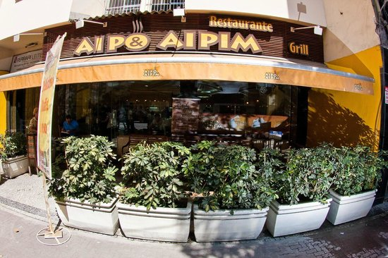 Aipo & Aipim: Restaurante Aipo e Aipim Ipanema