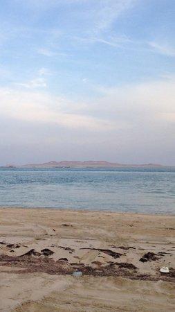 Khor Al Udeid : Arabic gulf border with Saudi Arabia