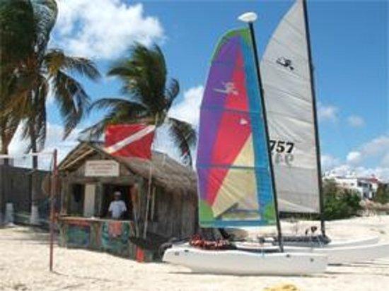 Las Perlas Condos: wind surf Imperial las Perlas Cancun