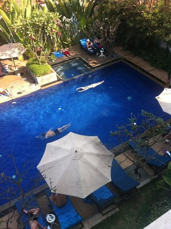 Frangipani Villa Hotel, Siem Reap: View from our room