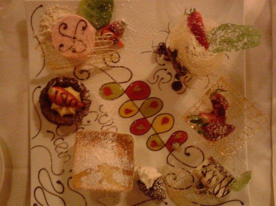 Ristorante L'Antico Forziere: Gran dessert