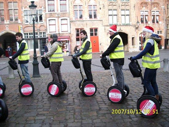 West-Vlaanderen, België: Brugge   tours  segway