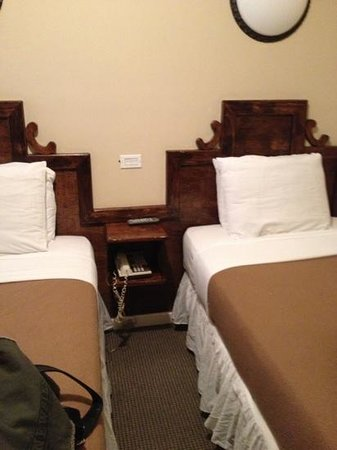 St Marks Hotel: beds