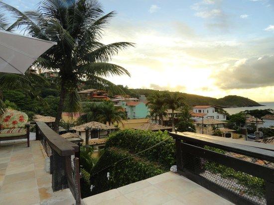 Pousada Praia Joao Fernandes: Vista desde la parte superior de la pousada