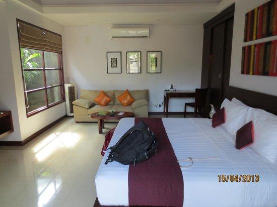 The Wolas Villas & Spa: Bedroom