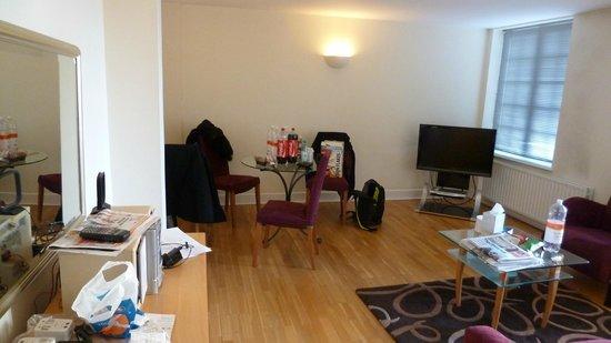 Citadines St Mark's-Islington London: living