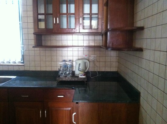 East African All Suite Hotel & Conference Centre: Kitchenette