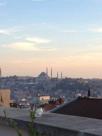 Adahan Istanbul: vista dalla terrazza