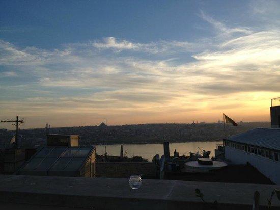 Adahan Istanbul : vista dalla terrazza