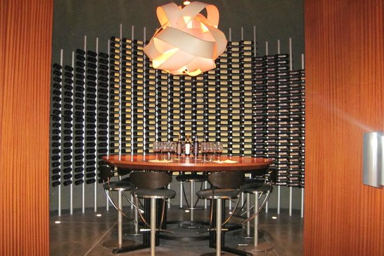 Lancaster Estate Winery: Library tasting room inside the cave