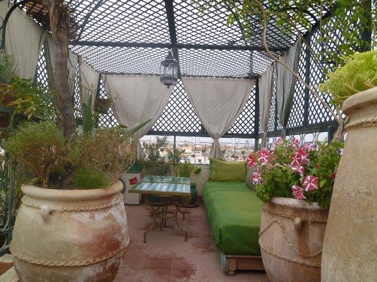 Riad Cherihane : la terrasse