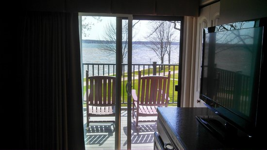 Lake Lawn Resort: From the King suite bedroom