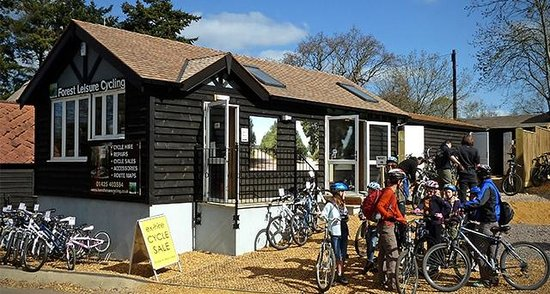 Forest Leisure Cycling: Our brand new New Forest Cycle Centre