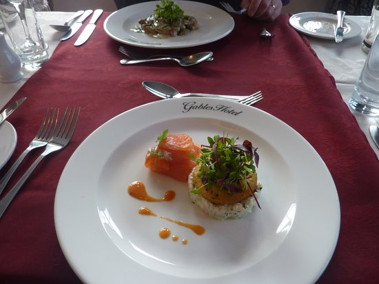 The Gables Hotel: Lovely starter