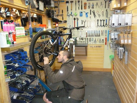 Forest Leisure Cycling: Cycle Repairs and Servicing? No problem!