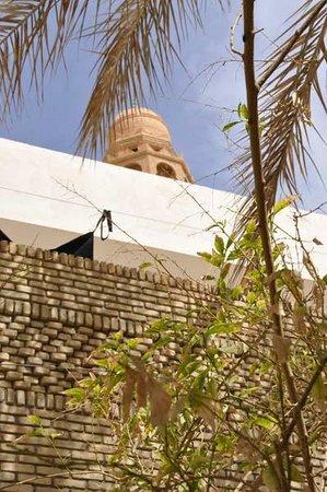 Le Minaret : Inner courtyard view
