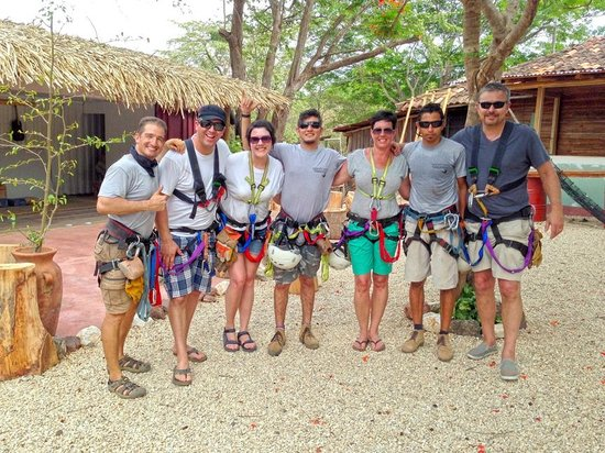 Canopy Vista Tamarindo : Our group