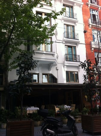 Taksim Park City Hotel: Entrance