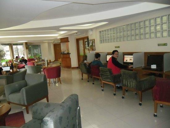 Hotel Laghetto Premio : Lobby