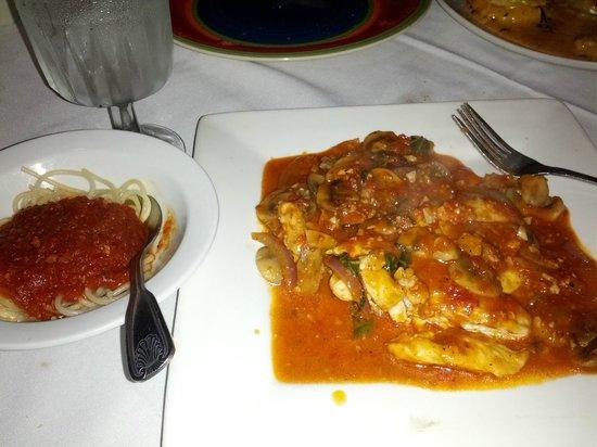 LA Bistro Italian Restaurant: Chicken Cacciatore