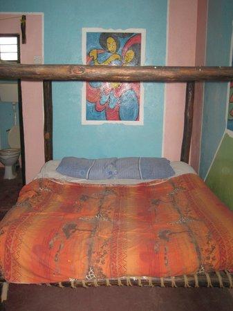 Nungwi Guesthouse : Bett