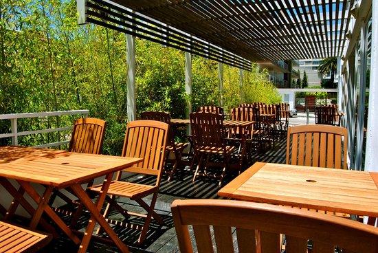 Hotel Castilla: Zona deck